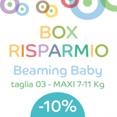 OFFERTA Beaming Baby 03-MAXI (136 pz)