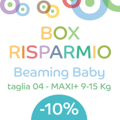 OFFERTA Beaming Baby 04-MAXI PLUS (136 pz)