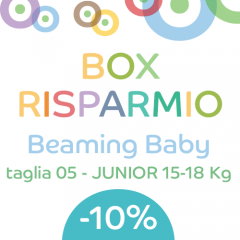 OFFERTA 4 pacchi Beaming Baby 05-JUNIOR 15-18 KG