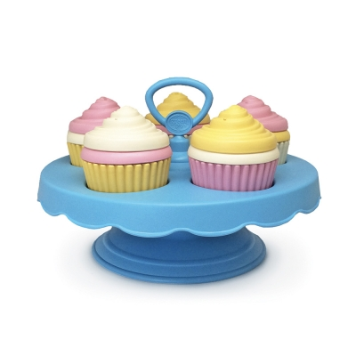 Set cupcakes in plastica riciclata Green Toys