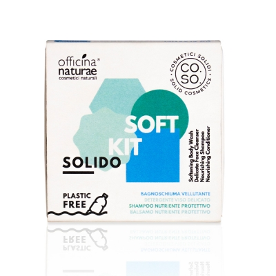 Soft Kit cosmetici solidi Officina Naturae