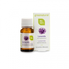 Olio essenziale bio Lavanda Officinalis Green Natural
