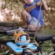 Elicottero d'acqua in plastica riciclata