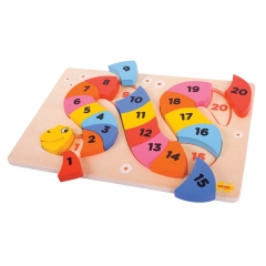 Puzzle serpente numeri Bigjigs