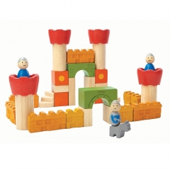 Blocchi castello in PlanWood PlanToys