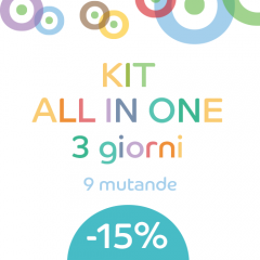 KIT 9 pannolini lavabili ALL IN ONE Imse Vimse
