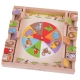 Animal Shut the Box gioco tavolo in legno