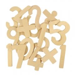 Sagome in legno numeri Bigjigs